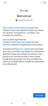 Samsung Galaxy Note 10 Lite - E-mails - Ajouter ou modifier votre compte Gmail - Étape 11