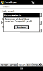 HTC T7373 Touch Pro II - netwerk en bereik - gebruik in binnen- en buitenland - stap 9