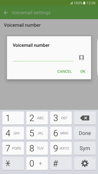 Samsung Samsung G928 Galaxy S6 Edge + (Android M) - Voicemail - Manual configuration - Step 9