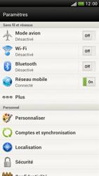 HTC One S - Internet et roaming de données - Désactivation du roaming de données - Étape 5