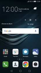 Huawei Huawei P9 Lite - Network - Manually select a network - Step 1