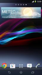 Sony Xperia Z1 - Operazioni iniziali - Installazione di widget e applicazioni nella schermata iniziale - Fase 7