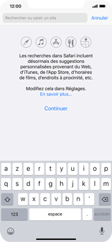 Apple iPhone 11 Pro Max - Internet - Navigation sur Internet - Étape 3