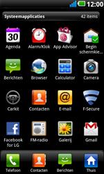 LG P990 Optimus 2X Speed - internet - hoe te internetten - stap 2