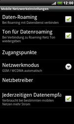 HTC Desire - Ausland - Im Ausland surfen – Datenroaming - 9 / 11