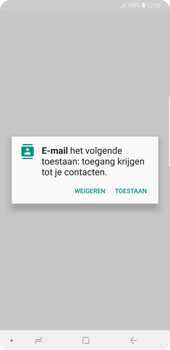 Samsung Galaxy Note9 - E-mail - handmatig instellen (outlook) - Stap 5