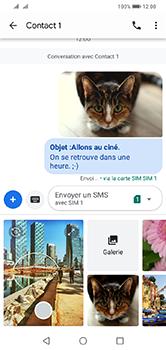 Huawei Y7 (2019) - MMS - envoi d'images - Étape 19