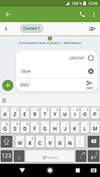 Sony Xperia XZ Premium - Android Oreo - MMS - envoi d'images - Étape 7