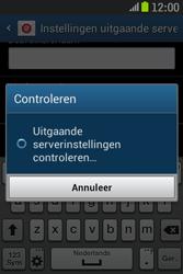 Samsung S6310 Galaxy Young - E-mail - e-mail instellen: IMAP (aanbevolen) - Stap 18