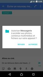 Sony Xperia X - Contact, Appels, SMS/MMS - Envoyer un MMS - Étape 13