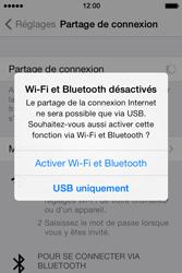 Apple iPhone 4 - Internet et connexion - Utiliser le mode modem par USB - Étape 7