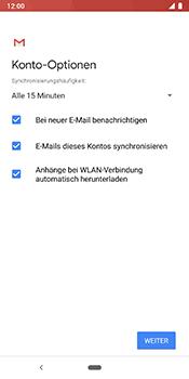 Google Pixel 3 - E-Mail - Konto einrichten (yahoo) - 11 / 16