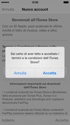 Apple iPhone 5s - Applicazioni - Configurazione del negozio applicazioni - Fase 12
