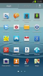 Samsung Galaxy S III LTE - Rete - Selezione manuale della rete - Fase 3