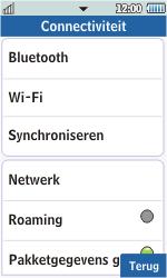 Samsung S5260 Star II - wifi - handmatig instellen - stap 5
