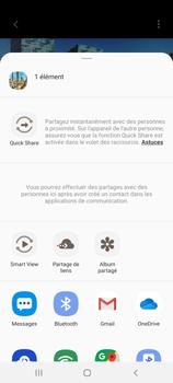 Samsung Galaxy S20+ - Photos, vidéos, musique - Créer une vidéo - Étape 17