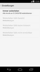 LG D821 Google Nexus 5 - Anrufe - Rufumleitungen setzen und löschen - Schritt 10