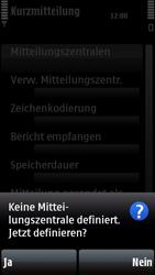Nokia 5800 Xpress Music - SMS - Manuelle Konfiguration - Schritt 7