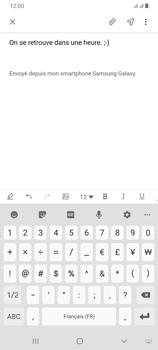 Samsung Galaxy A70 - E-mail - envoyer un e-mail - Étape 11