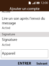 Alcatel 3088X - E-mails - Ajouter ou modifier votre compte Outlook - Étape 11