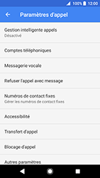 Sony Xperia XZ Premium - Android Oreo - Messagerie vocale - configuration manuelle - Étape 8