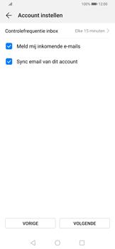 Huawei P Smart Z - E-mail - e-mail instellen: POP3 - Stap 16