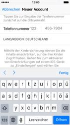 Apple iPhone 5c iOS 9 - Apps - Einrichten des App Stores - Schritt 22