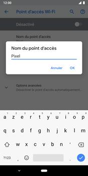 Google Pixel 3 - Internet et connexion - Partager votre connexion en Wi-Fi - Étape 8