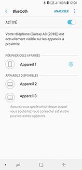 Samsung Galaxy A8 - Internet et connexion - Connexion avec un équipement multimédia via Bluetooth - Étape 10