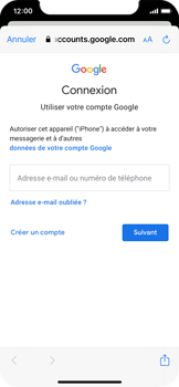 Apple iPhone 11 Pro - iOS 14 - E-mail - 032a. Email wizard - Gmail - Étape 7
