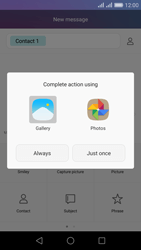 Huawei Honor 5X - MMS - Sending pictures - Step 14