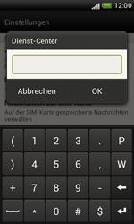 HTC Desire X - SMS - Manuelle Konfiguration - 6 / 7