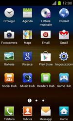 Samsung Galaxy S II - Applicazioni - Configurazione del negozio applicazioni - Fase 3