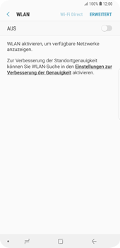 Samsung Galaxy S9 Plus - WLAN - Manuelle Konfiguration - 2 / 2