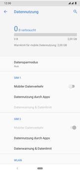 Nokia 7.2 - Internet und Datenroaming - Prüfen, ob Datenkonnektivität aktiviert ist - Schritt 6