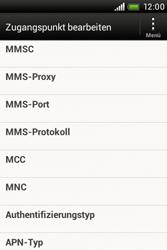 HTC Desire C - MMS - Manuelle Konfiguration - 0 / 0