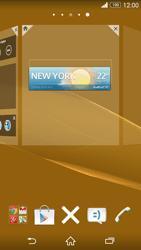 Sony Xperia Z3 Compact - Startanleitung - Installieren von Widgets und Apps auf der Startseite - Schritt 6