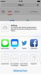 Apple iPhone 5 iOS 7 - Internet und Datenroaming - verwenden des Internets - Schritt 7