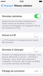 Apple iPhone 5c - Internet et connexion - Activer la 4G - Étape 4