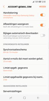 Samsung Galaxy S8 (G950) - E-mail - Instellingen KPNMail controleren - Stap 25