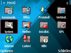 Nokia E71 - MMS - Manuelle Konfiguration - Schritt 4