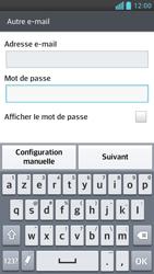 LG Optimus F6 - E-mails - Ajouter ou modifier un compte e-mail - Étape 7