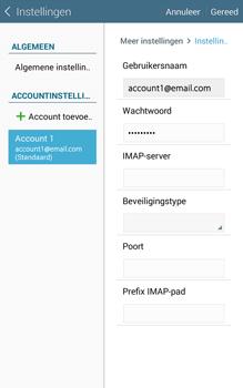 Samsung Galaxy Tab4 8.0 4G (SM-T335) - E-mail - Instellingen KPNMail controleren - Stap 15
