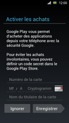Sony Xperia U - Applications - Configuration de votre store d