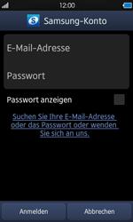 Samsung Wave - Apps - Konto anlegen und einrichten - 13 / 18