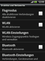 HTC Wildfire - WLAN - Manuelle Konfiguration - 5 / 10