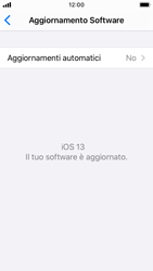 Apple iPhone SE - iOS 13 - Software - Installazione degli aggiornamenti software - Fase 6