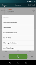 Huawei P8 Lite - Anrufe - Anrufe blockieren - 4 / 12