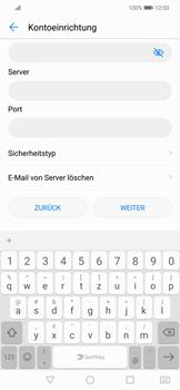 Huawei Mate 20 Lite - E-Mail - Konto einrichten - Schritt 9