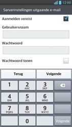 LG D505 Optimus F6 - e-mail - handmatig instellen - stap 13